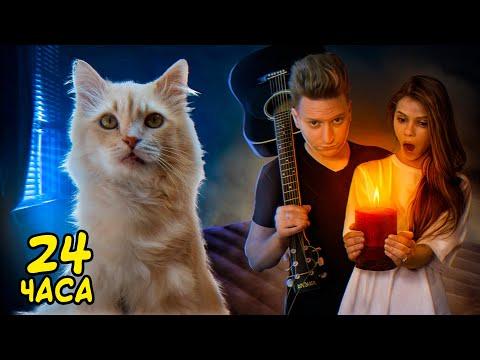 24 часа с рыжим котом нашими глазами / SANI vlog