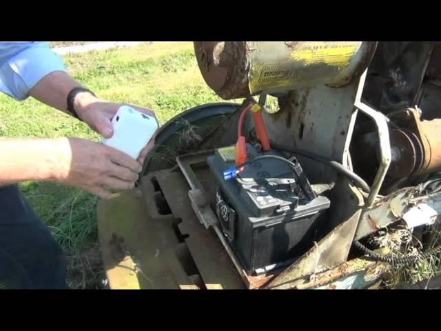Jumpstart Traktor