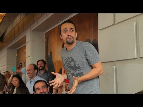 #Ham4Ham: Behind the Scenes at the First Ticket Lottery for Broadway's Hamilton