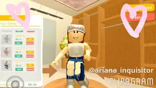 Looking for my party outfit in ROBLOX (swish swish - Katy Perry)