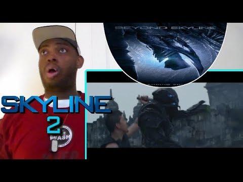 BEYOND SKYLINE: SKYLINE 2 Official Trailer REACTION!!!
