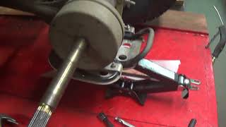 2016 Polaris Outlaw 110 Rear Brake Drum Removal