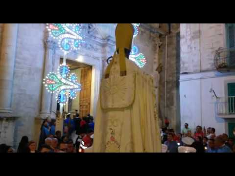 Santi Medici 2016: il rientro nella chiesa di San Domenico