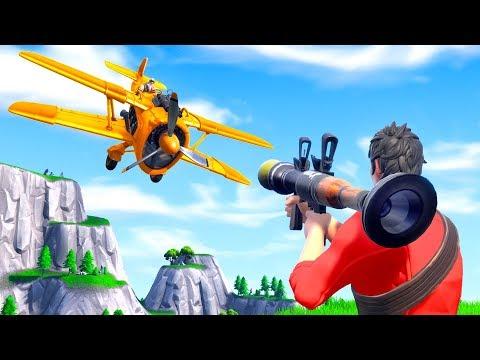PLANES VS RPG In Fortnite Battle Royale!