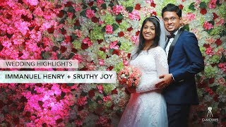 Immanuel Henry + Sruthy Joy | Wedding Highlights | Don Valiyavelicham ©