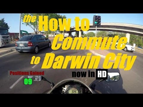 the 'Motorcycle Commuter's Guide' to Darwin City