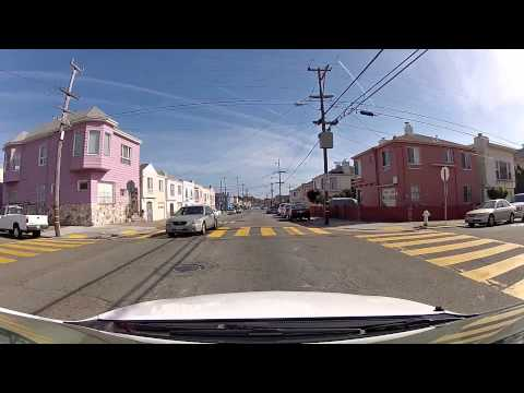 Driving in Daly City  (San Francisco, CA)