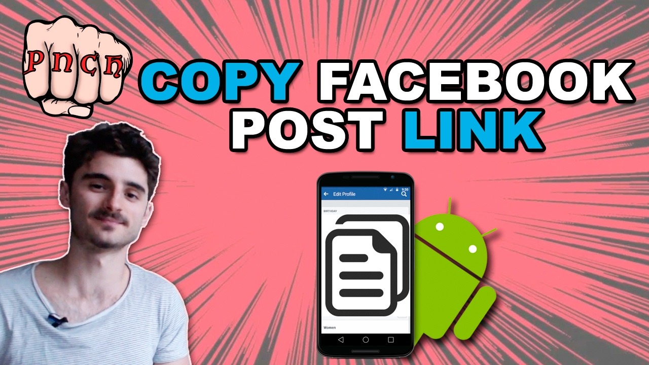 how to get a url of facebook post
