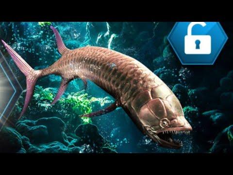 Finally a Aquatic Gillicus Tournament Creature!!!!!  Jurraic World the game ep 2 36 