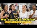 The BEST Metro GIRLS Battle for the Top Spot | Garfield vs. West Seattle