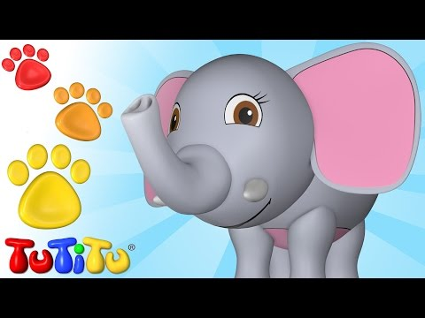 TuTiTu Animals | Animal Toys for Children | Elephant and Friends