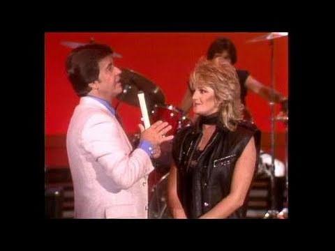 Dick Clark Interviews Bonnie Tyler - American Bandstand 1983