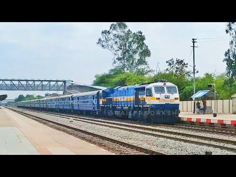 51671 Itarsi-Satna Fast Passenger Arriving At Maihar With ET WDP-4D||RAILFAN DAKSHESH SINGH ||