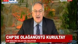 PROF.DR. HALUK KOÇ BUGÜN TV 29/08/2014