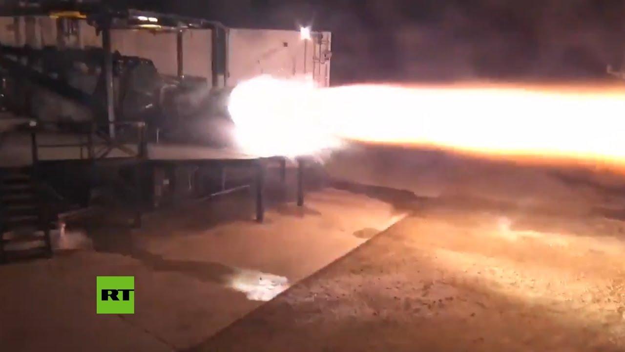 Así 'ruge' el motor del nuevo cohete Starship Raptor de SpaceX ????