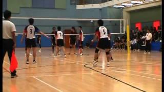 2007 08香港學界 第一組 男子排球甲組決賽長天對培正
