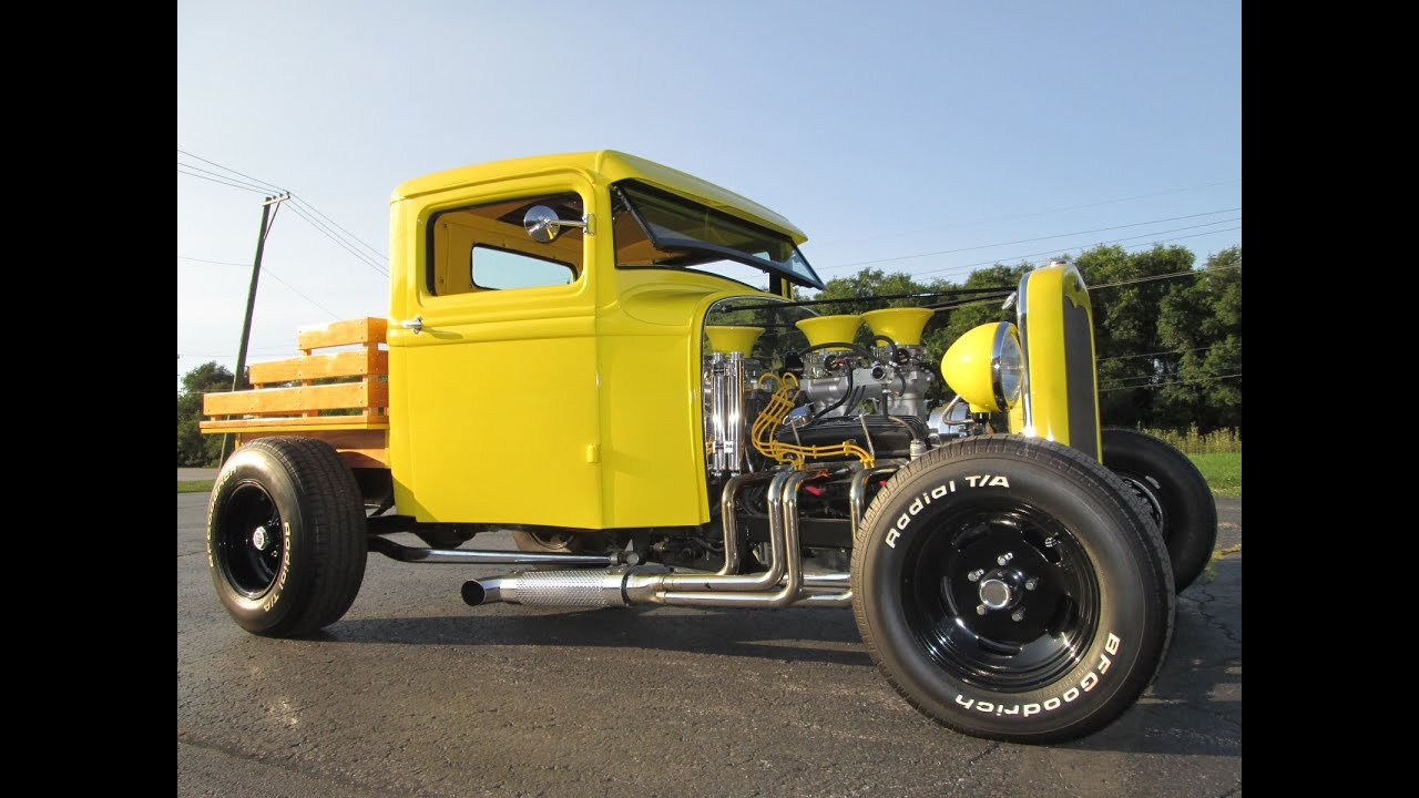 1932 FORD HOT ROD PICKUP TRUCK - YouTube