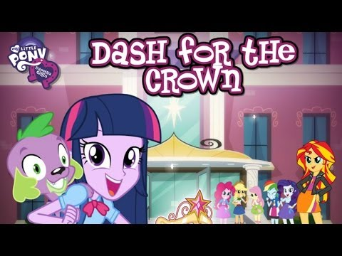 Let's Insanely Play Equestria Girls Canterlot High School Dash For The Crown (Online?)