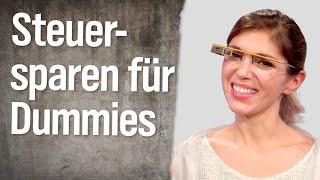 Digitalunternehmen: Steuernsparen für Dummies