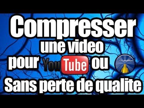 [Tuto] Compresser une vidéo sans perdre de qualité (Pour YouTube ou Dailymotion)