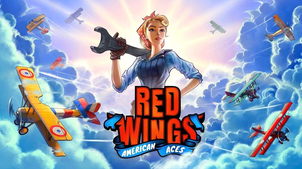 Red Wings: American Aces - Reveal Trailer - Gematsu