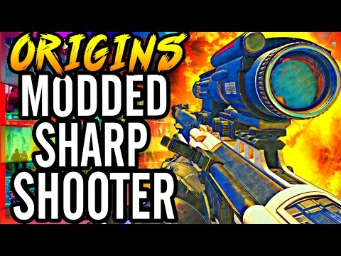 """ORIGINS SHARPSHOOTER?!"" Black Ops 2 Zombies Modded Origins Funny Moments! ~ Bo2 Zombie Mods!"
