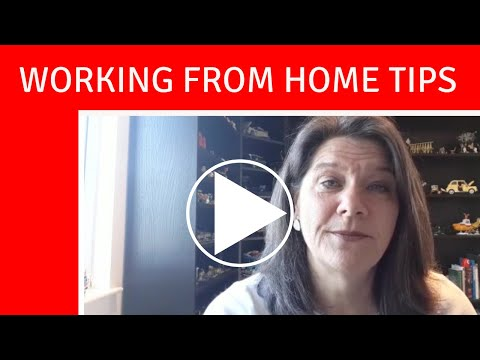 Working from home tips from Claire Symonds