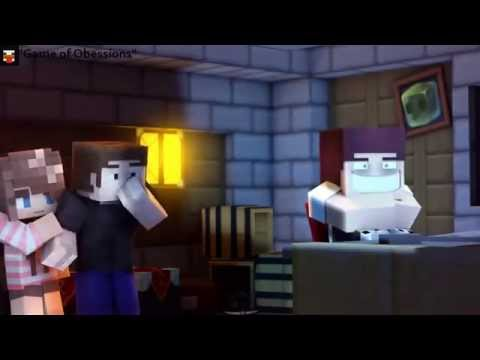 Top 10 Minecraft Animations Minecraft (full HD) 2015