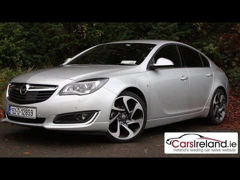 2015 Opel Vauxhall Insignia with OnStar review CarsIreland ie