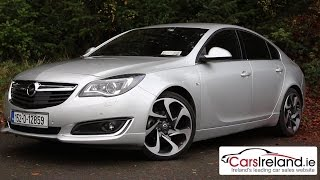 2015 Opel (Vauxhall) Insignia with OnStar review | CarsIreland ie