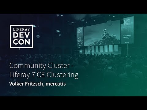 Community Cluster - Liferay 7 CE Clustering