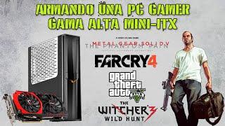 armando y probando una pc gamer mini itx gama alta con el rvz02 i5 4690k gtx 970 espaol
