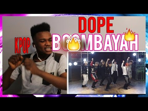 SHOWING FRIEND KPOP FOR THE FIRST TIME!! BTS - dope Blackpink - Boombayah