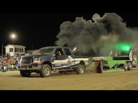 Adams County Tractor Pull 2014 Diesel