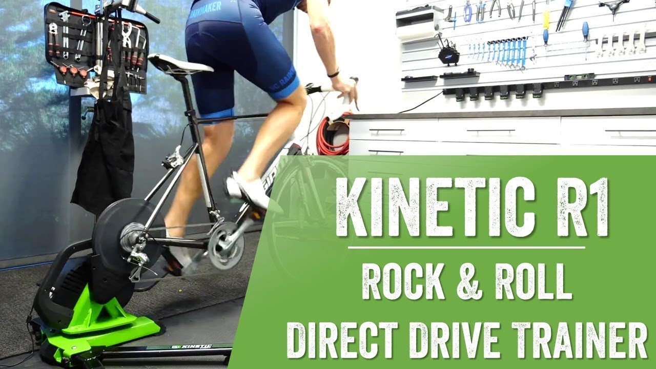 First Look: Kinetic R1 Direct Drive Trainer (that moves!)