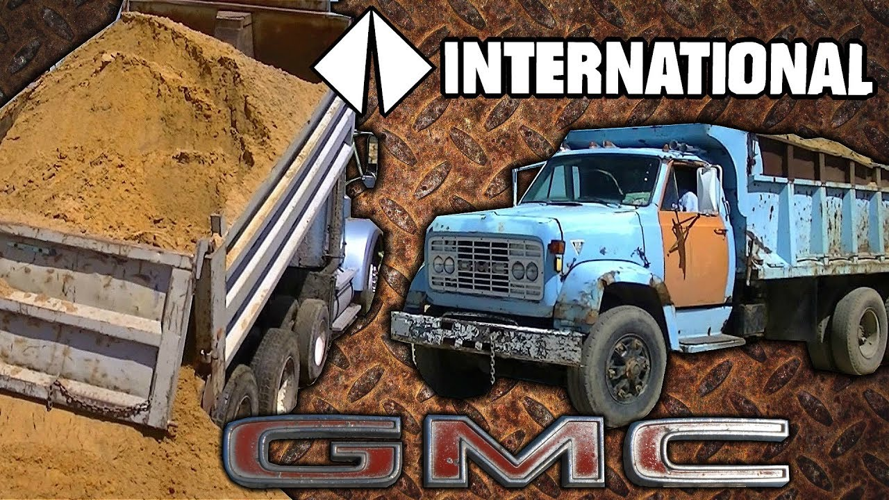 Gmc detroit diesel and international cat 3406 dump trucks for Gmc motors near me