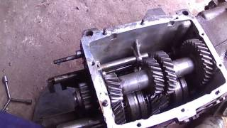 видео коробка передач ВАЗ-2107 четырехступенчатая