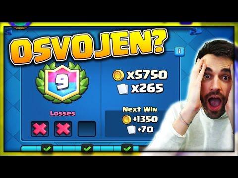 Clash Royale | JOŠ TRI POBJEDE DO 145k GOLDA?