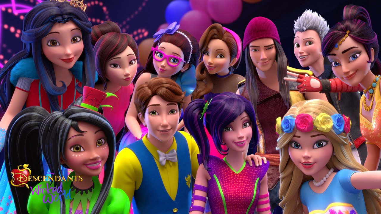 Cute Barbie Doll Wallpaper Images Episode 18 Hooked On Ben Descendants Wicked World