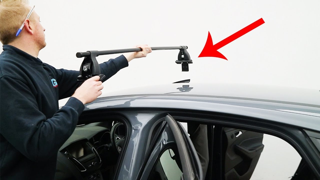 How To Fit Roof Rack Bars Ford Focus Mk3 Youtube