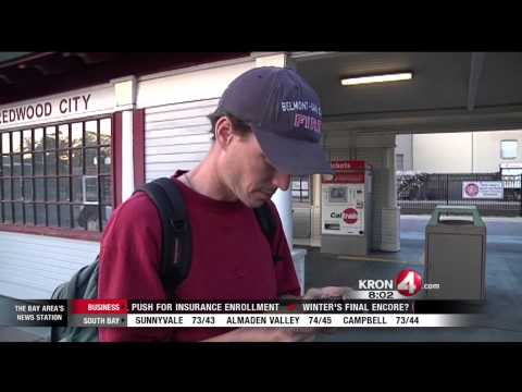 Viral Video: Caltrain Express Train Barely Misses Hitting Man