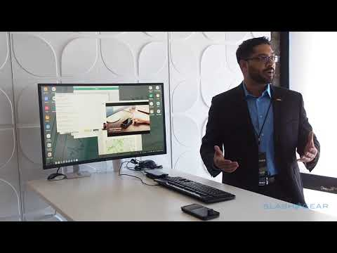 Samsung DeX Pad walkthrough with Galaxy S9 - YouTube