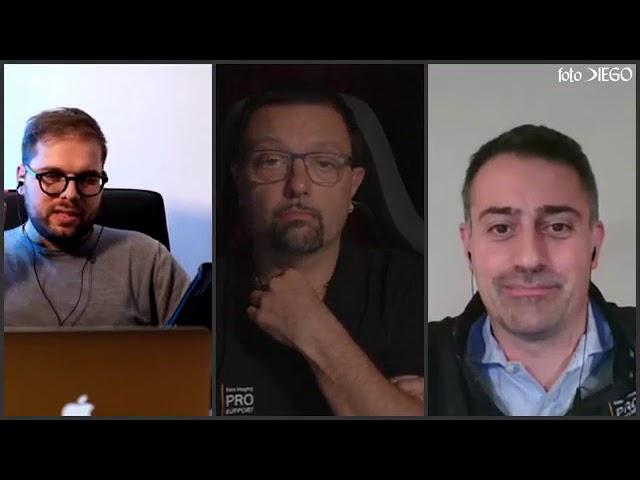 Live per conoscere la nuova α7 SIII in compagnia di Malcom Rossi e Davide Grimoldi di Sony Italia.