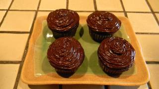 How To Make Chocolate Cupcakes With A Delicious Raspberry Filling.