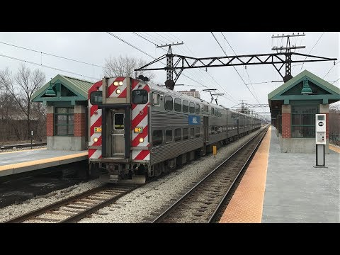 Metra HD 60fps: Electric District, South Shore Line, & Amtrak @ 55th-56th-57th Street (2/10/19)