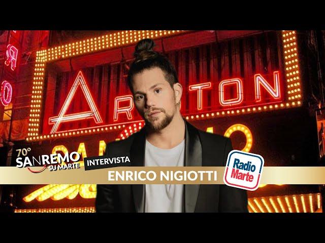 SANREMO SU MARTE - Intervista ad Enrico Nigiotti