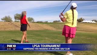 In honor of LPGA tournament, non-profit hosts junior golf day