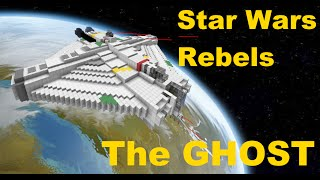 """Star Wars Rebels """"The GHOST"""" in Minecraft"""
