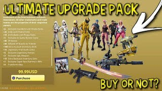 *NEW* Buying The Fortnite Ultimate Upgrade Pack! (Fortnite Save The World)