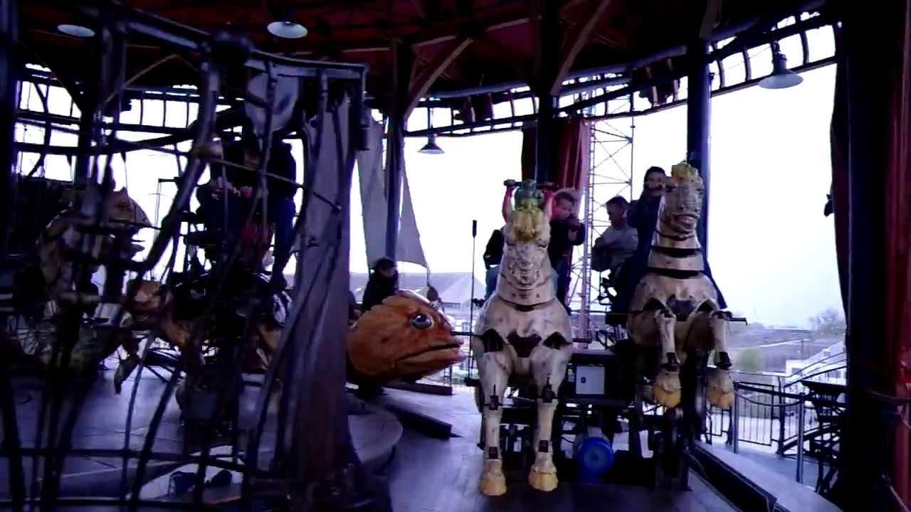 Le carrousel des mondes marins les machines de l 39 le de nantes youtube - Le carrousel des mondes marins ...